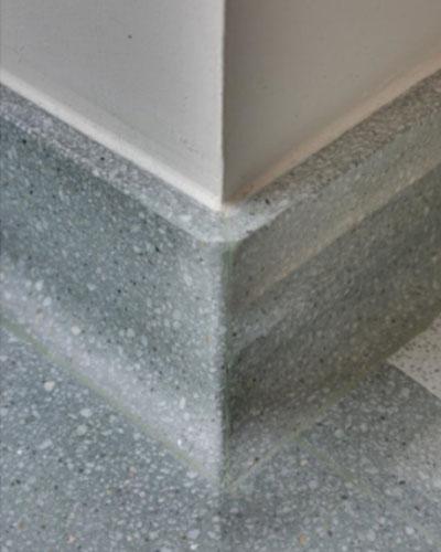 Integral Flashcove Base - Coved floor tiles